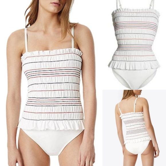 9777d4e700693 ❄Tory Burch    Costa One Piece Swimsuit. M_5c2561c27386bc817ae32d25